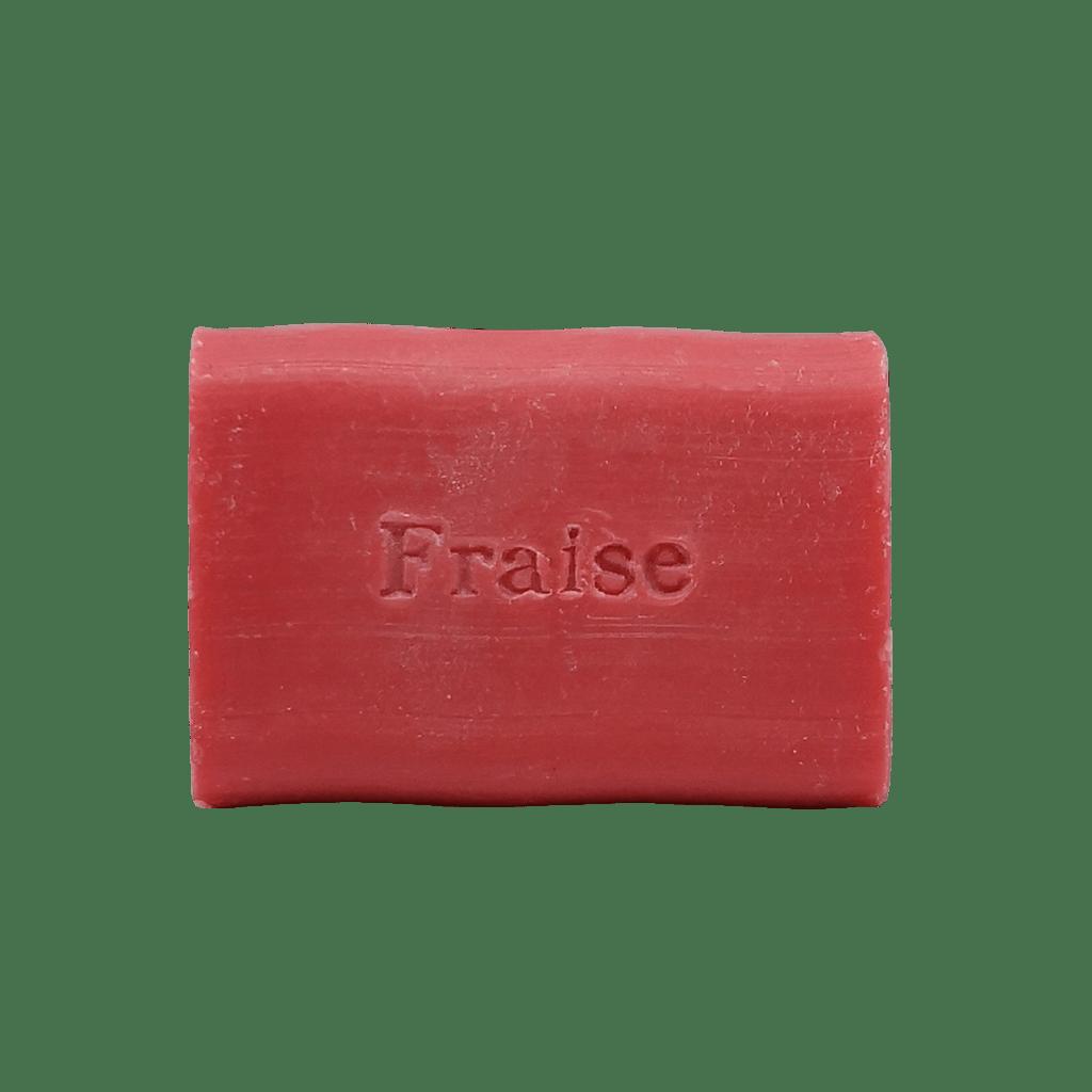 savon a la fraise