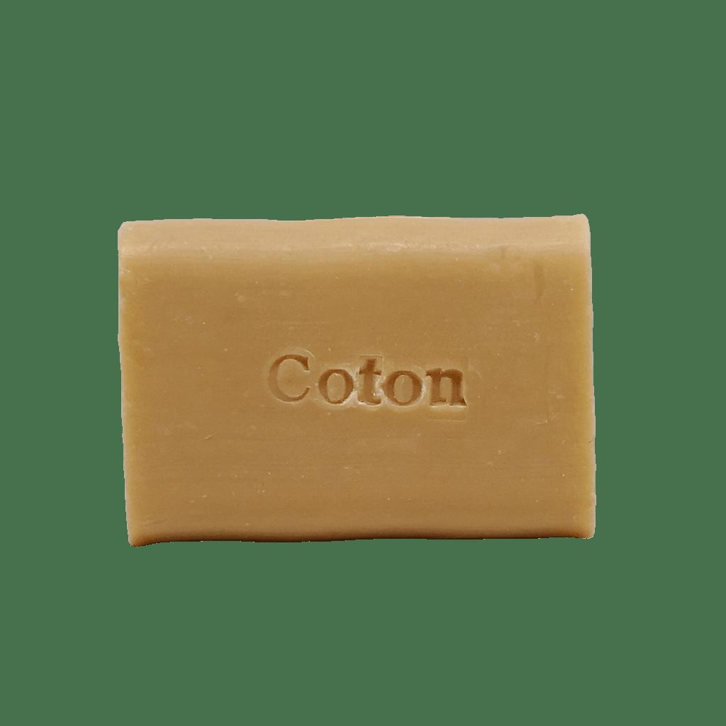 savon au coton